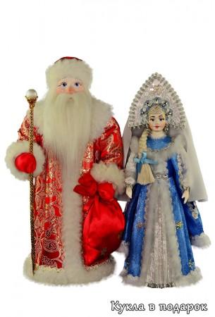 Авторские куклы Дед Мороз и Снегурочка