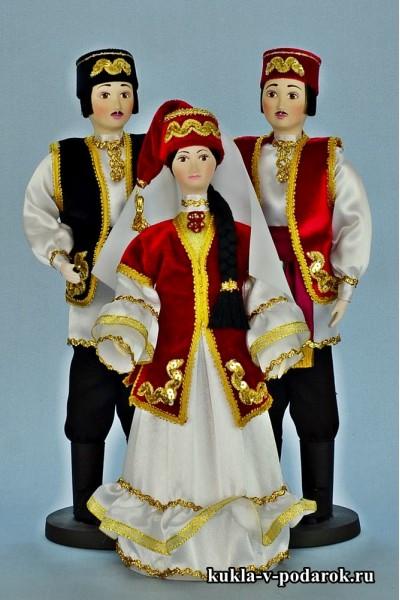 Сувенирные куклы Татарстана