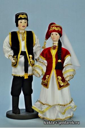 Сувенирные куклы татарский подарок