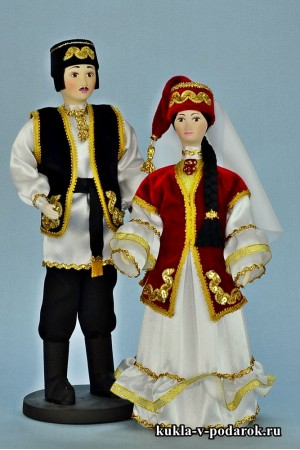 Сувенирные куклы ручная работа автора