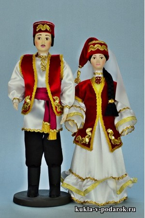 Сувенирные куклы татарский сувенир в подарок