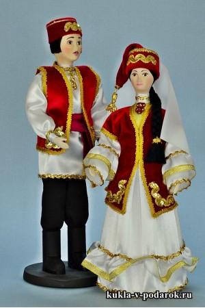 Сувенирные куклы готовое изделие