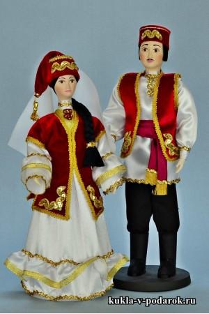 Сувенирные куклы сделано в России, Москва