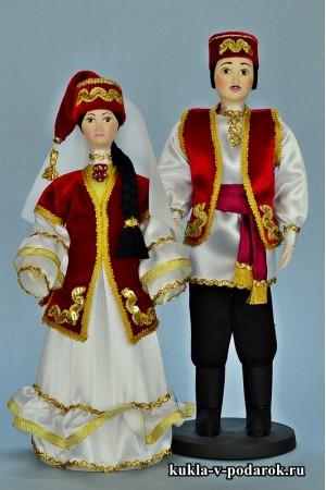 Красивые сувенирные куклы из Татарстана