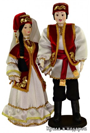 Авторский подарок для Татарстана сувенирные куклы