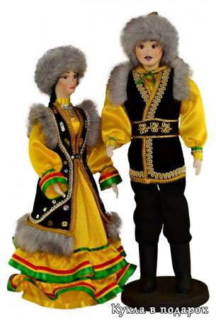 Авторская ручная работа башкирские куклы