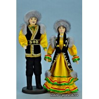 Башкирская культура и национальные куклы