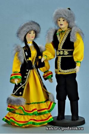 Красивые куклы башкир и башкирка