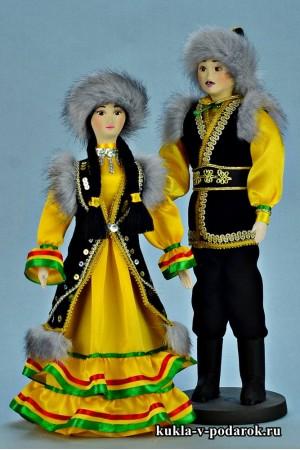 Красивые куклы Башкирии сделано в России Москва