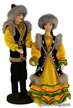 Красивый недорогой подарок башкирская кукла