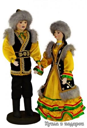 Красота мира - народный костюм башкирской куклы куклы