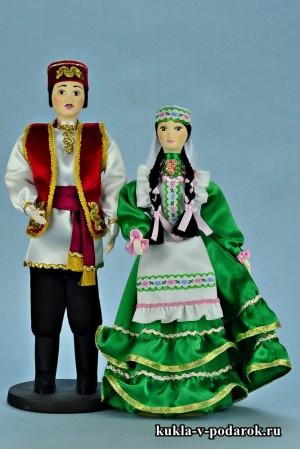 Текстильные куклы в подарок