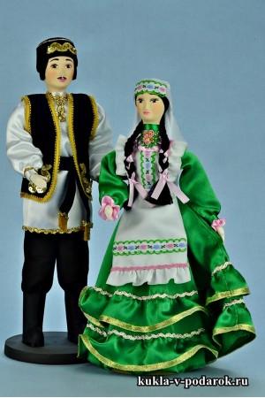 Текстильные куклы красивый татарский подарок