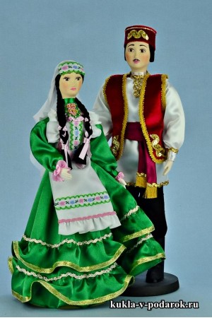 Текстильные татарские куклы