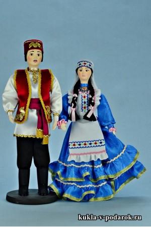 Текстильные татарские хенд мейд куклы
