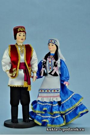 Текстильные куклы готовый татарский сувенир