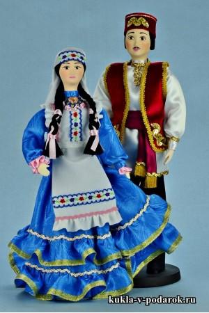 Текстильные куклы в татарской народной одежде