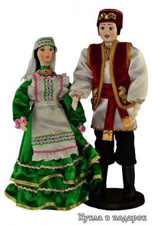 Недорогой подарок текстильные куклы