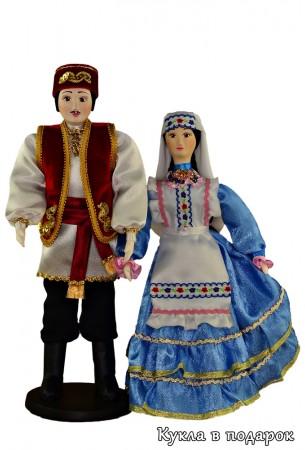 Текстильные куклы с лицом, расписанным вручную красками