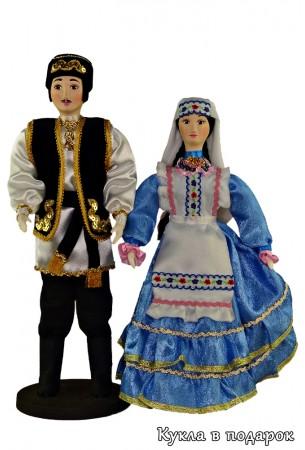 Куклы в подарок в татарском национальном костюме