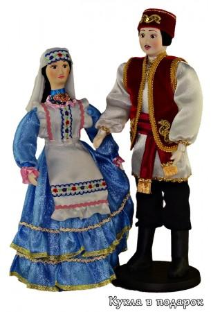 Текстильные куклы в татарском народном костюме
