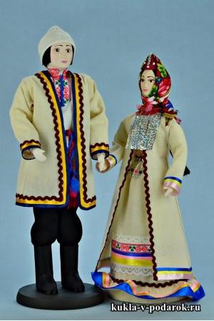 Недорогие марийские куклы мужчина и женщин