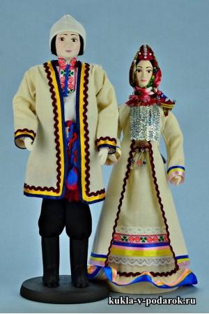 Недорогие куклы в марийской народной одежде
