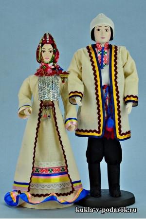 Недорогие куклы готовый марийский сувенир