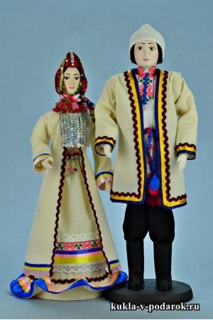 Недорогой подарок марийские куклы