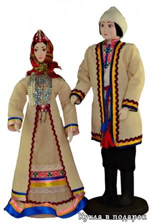 Национальный подарок из Марий Эл хорошенькие куколки