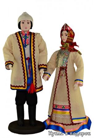 Недорогой красивый подарок марийские куклы
