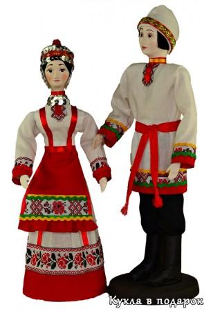 Куклы в подарок чуваши в национальных костюмах