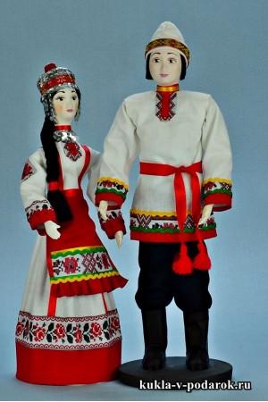 Национальные куклы чувашский сувенир