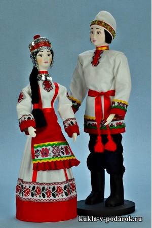 Национальные куклы ручной работы