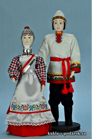 Национальные куклы сувенир в подарок