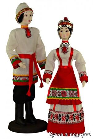Фото кукол в национальных чувашских костюмах