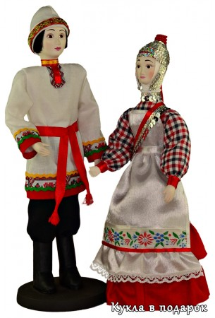 Недорогие национальные куклы из Москвы