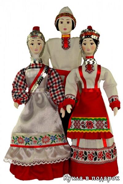 Национальные куклы Чувашии
