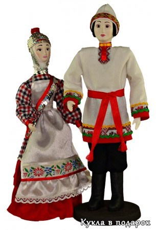 Чувашский сувенир - национальные куклы в подарок