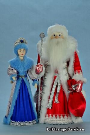 фото куклы на Новый год подарок новогодний сувенир