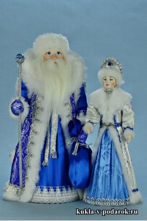 фото куклы на Новый год Снегурочка и Дед Мороз