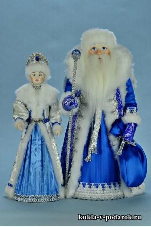 фото куклы на Новый год ручной работы