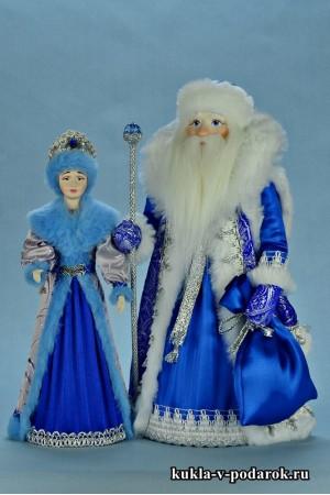 фото куклы на Новый год сувенир из Москвы