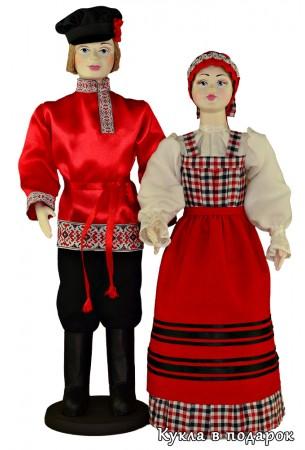 Авторская кукла в народном костюме Архангельска