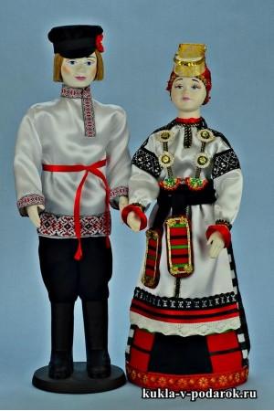 Народные куклы в русских костюмах