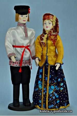 Народные куклы в национальном костюме
