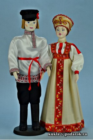 Народные куклы русский сувенир в подарок