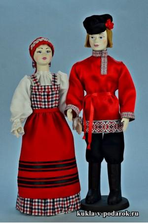 Народные куклы сделано в России, Москва