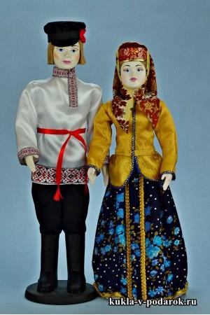 Народные куклы в русской национальной одежде