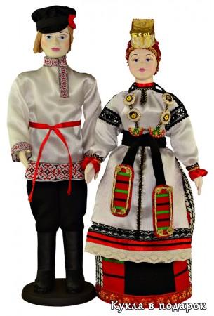 Народные куклы в русских костюмах Воронежа